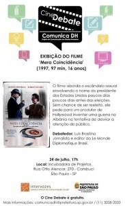Cine Debate 24_07_2014 - MeraCoincidencia