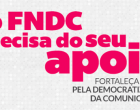 campanha apoio FNDC marco2017 - imagem site