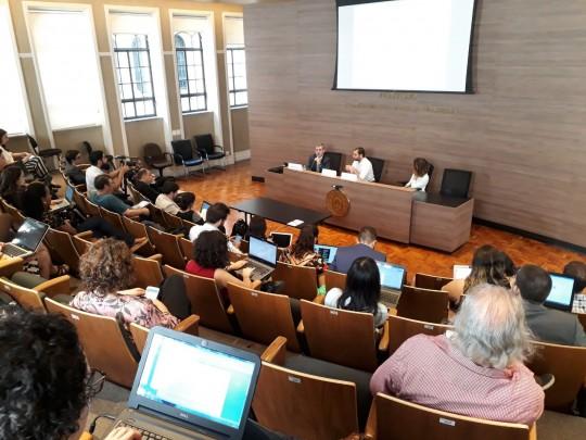 Lanza participa de seminário sobre regulação de conteúdos online em São Paulo, no dia 10 de setembro deste ano