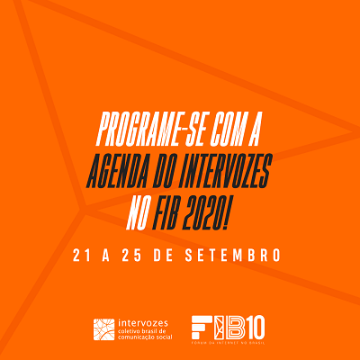 Intervozes no Fórum de Internet 2020
