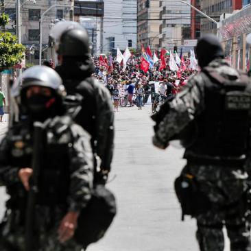 Intervozes exige a responsabilização dos agentes públicos envolvidos na repressão ao ato do Recife