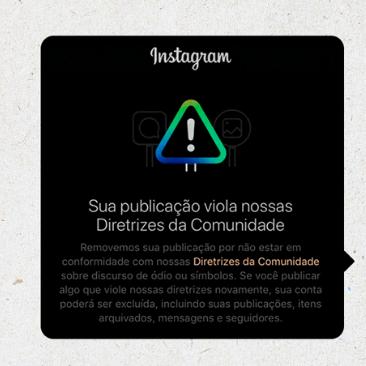 Conselho Nacional de Direitos Humanos solicita explicações ao Instagram sobre retirada de conteúdos